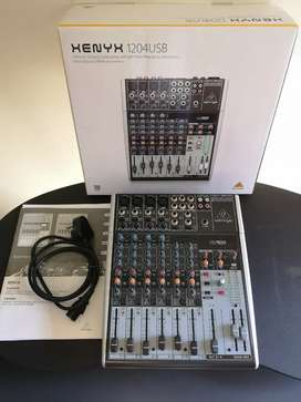 Behringer Xenyx 1204 USB Mixer For Sale