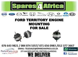 FORD TERRITORY ENGINE MOUNTING