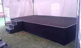 Stage hire and sales