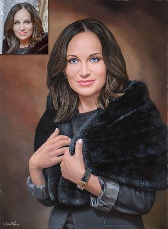 Портрет маслом на заказ у профессионального художника. Шендеров В. Одесса - изображение 3