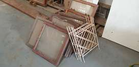 Wooden windows second hand