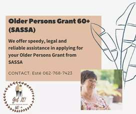 Older persons grant 60+
