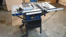 Ryobi table saw (10 inch, sliding table, router fence)