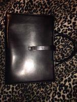 Кожаная сумка-портфель Wanlima