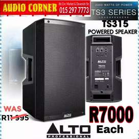 "Alto Speaker 15"" active Built in Amp"