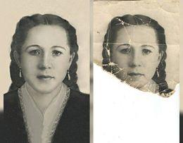 Реставрация,восстановление, коррекция старых фото