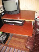 Стол компьютерный + стул вращающийся