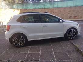 A Vw PoloTsi 1.2 High line with sunroof and leather seats