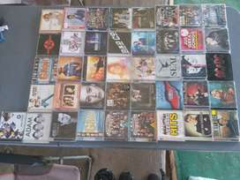Dvds, blu rays and music cds for sale
