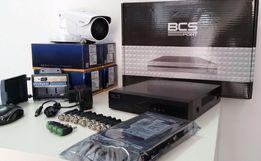 Monitoring ZESTAW 2,3 4,5,6,7,8 kamer HD 1,3MPx lub 2 MPX IR70