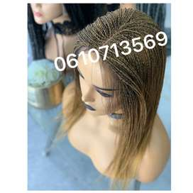 twist wig with lace front and baby hair