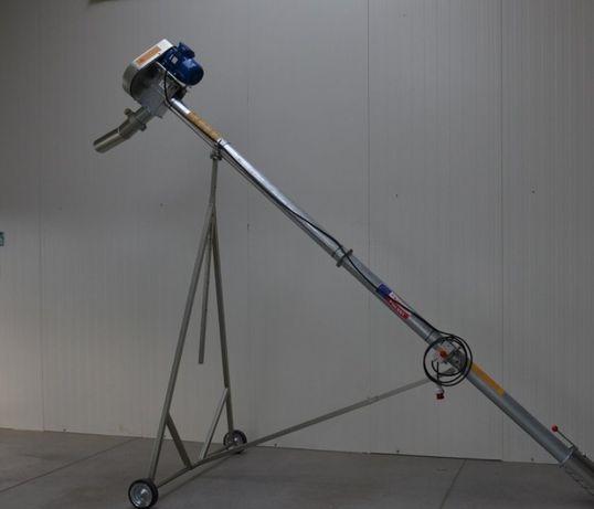 Przenośnik ślimakowy fi 110 OCYNKOWANY rura bezszwowa 4,4m Dakowy Suche - image 2