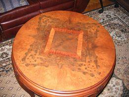Stolik okrągły.