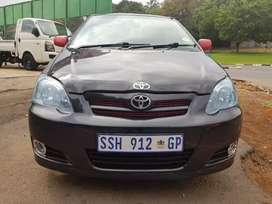 2007 Toyota Runx 1.6 Sport with leather seats