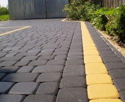 Тротуарная плитка, асфальт, асфальтирование, укладка плитки.