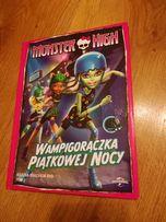 "Monster high film Dvd ""Wampigorączka piątkowej nocy"" ."