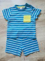Bawełniany komplecik( t-shirt i spodenki) mini club 6-9(74)