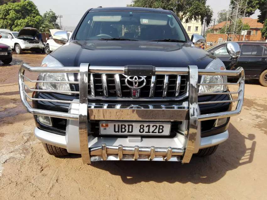 Toyota land cruiser prado tx model 2004 with vvti engine for sale 0
