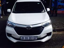 Toyoto Avanza 1.5 available now