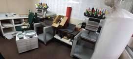 2 x Embroidery Machines and 1 x Industrial sewing machine