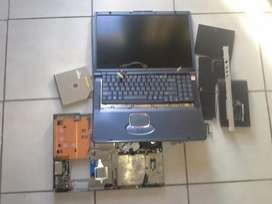Laptop full set parts for sale screen 100 % condition
