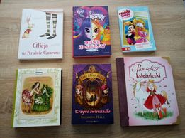 Zestaw 6 książek dla małej Czytelniczki + BONUS!