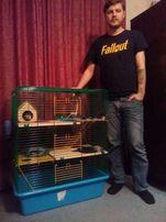 Вольер-клетка для шиншилл хорька крыс дегу белки птиц 80х45х107h см