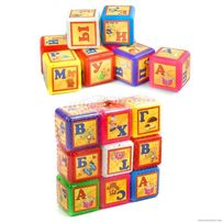 Развивающие кубики,набор,9 шт.,Азбука (рус.язык),алфавит,азбука,абетка