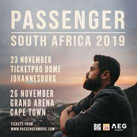 Passenger ticket (Cape Town)