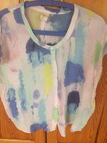 Bluzka oversize Levi's S 36 wiskoza koszula pastelowe kolory