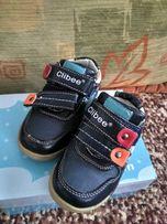 Детские новые кожаные кроссовки, 21 размер