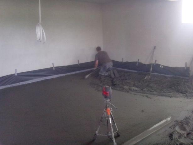 Wylewki Posadzki Styrobeton Tynki tradycyjne wapienno-cementowe Myślenice - image 2