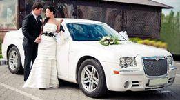 Белый авто на свадьбу Chrysler 300C