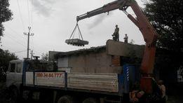 Кран манипулятор 15 т.Песок щебень до 7 тонн.Луганск