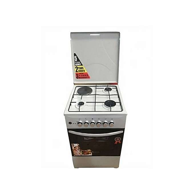 Full Gas Cooker 50 X 50 Cm - Silver 0