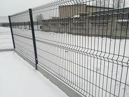 Panel ogrodzeniowy wysokość 153x2500 fi 4 grafit
