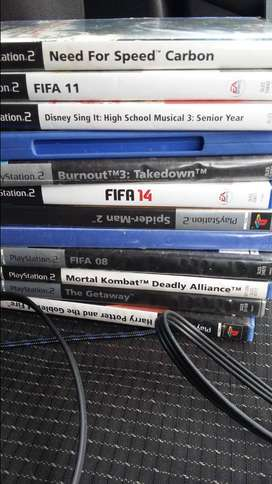PS 2 with games