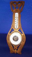 Барометр термометр старинный Германия