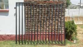 Steel gates, front or back applications
