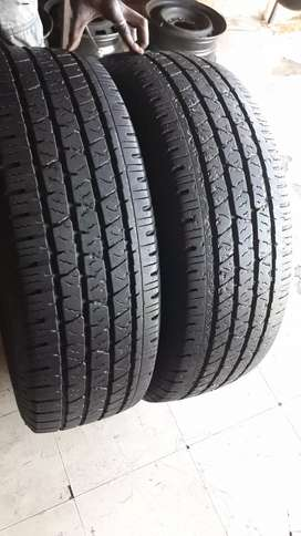 255/70/16 CONTINENTAL CROSSCONTACT TYRES×2
