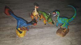 "Фигурки динозавров из коллекции Jurassic Hunters от ""Geoworld"""