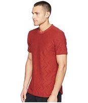 Футболка Adidas Jacquard Tee Red (красная)