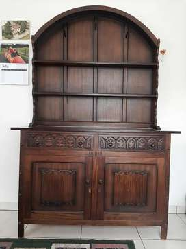 Beautiful Wooden Lounge / Dining cabinet