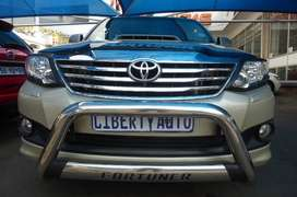 2012 Toyota Fortuner 3.0 D-4D 4x2 SUV 7 Seater 80,000km LIBERTY AUTO