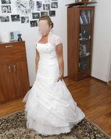 suknia ślubna jak nowa tanio