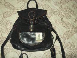 Рюкзак кожаный детский