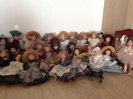mega kolekcja lalki laleczki z porcelany DeAGOSTINI 30szt