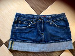 Юбка джинсовая короткая брендовая новая