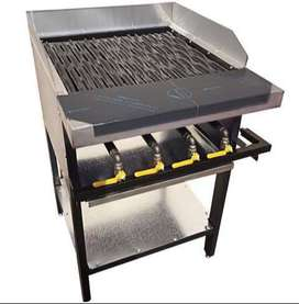 Gas flame griller 4 flame (used)