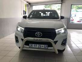 Toyota hilux 2.8 GD-6 2018 manual double cab for SELL